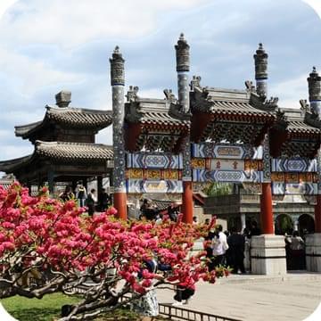 Гранд-тур в Китай вход во дворец в Пекине