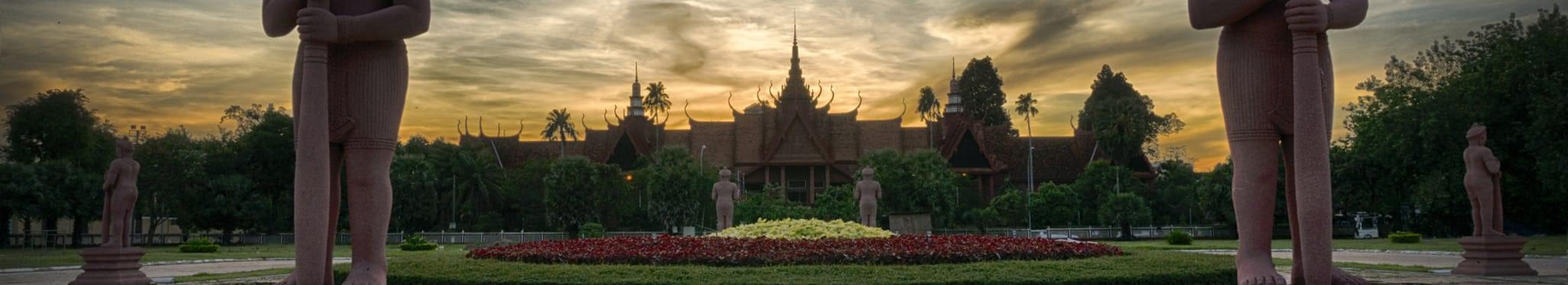 Город на слиянии четырёх рек:<br>Пномпень, Ангкор, Сием Реап
