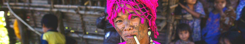 Загадки народности Чин:<br>Янгон, Баган, Янгон, Ситве, Мраук У, деревня Чин, Янгон