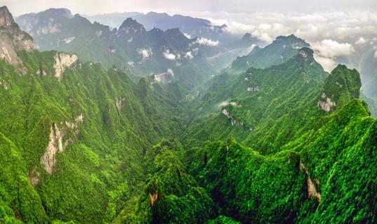 Гора Тяньмэньшань Небесные врата фото 1