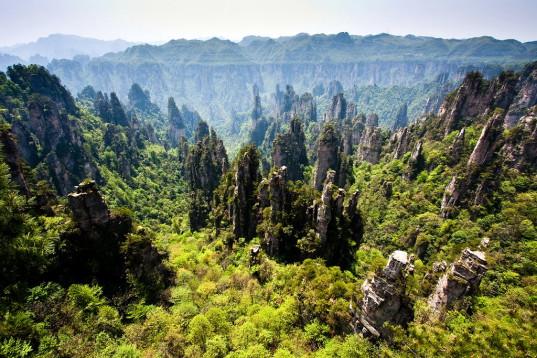 Скалы Тяньцзышань или горы Аватара фото 2