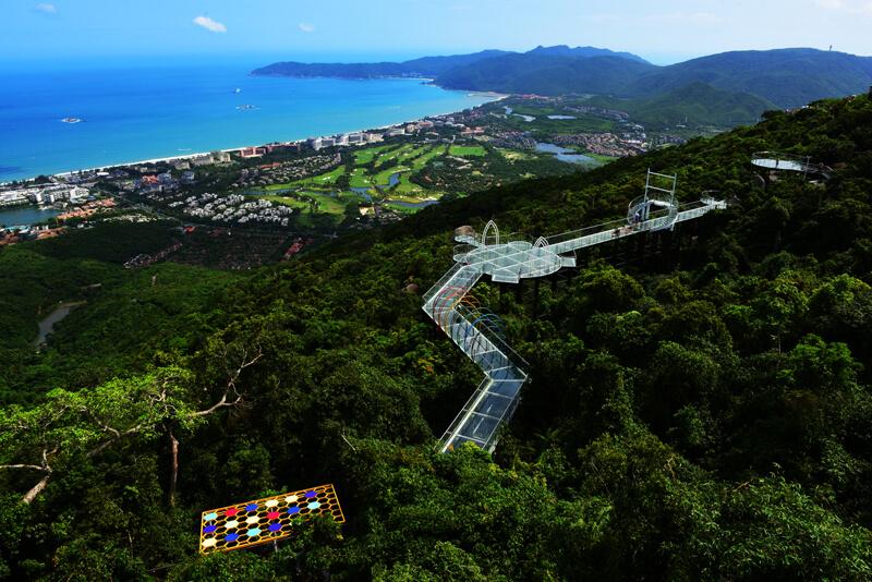 Парк Тропический Рай на Хайнань - фото