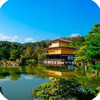храм Кинкакудзи фото 13