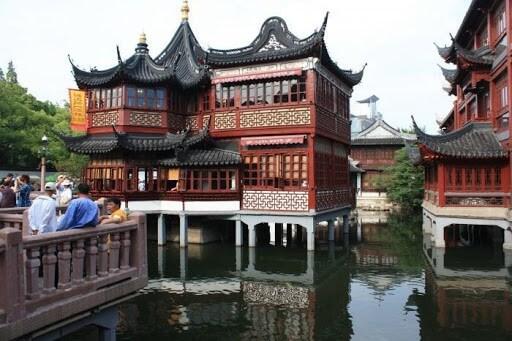 сад радости юй юань - достопримечательности шанхая фото