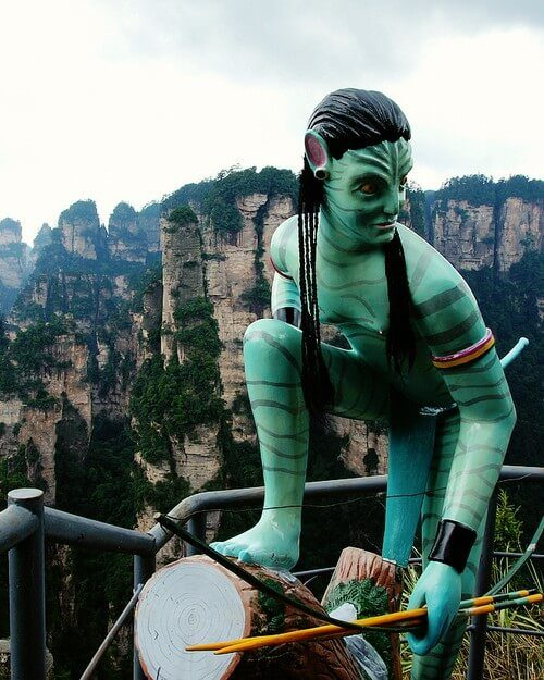 Места для вдохновения – мир и горы Аватара. Китай