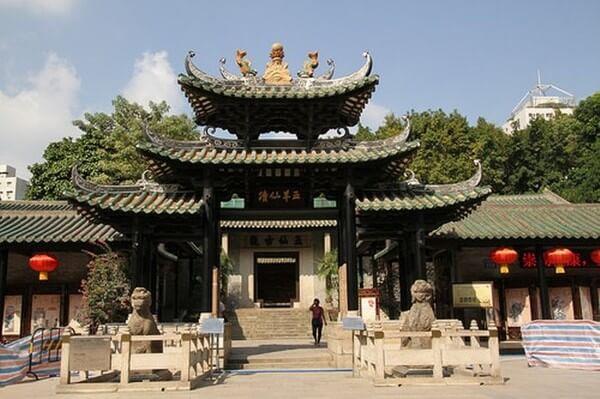 храм пяти духов - достопримечательности гуанчжоу