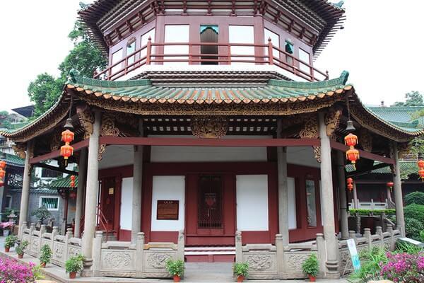 храм шести баньяновых деревьев - достопримечательности гуанчжоу