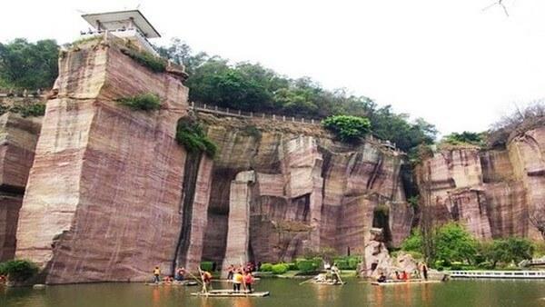 лотосовые горы - достопримечательности гуанчжоу
