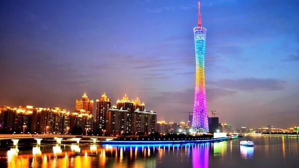 телебашня гуанчжоу - достопримечательности гуанчжоу
