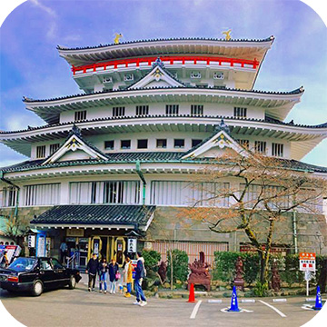 Замок Атами в Японии фото 2