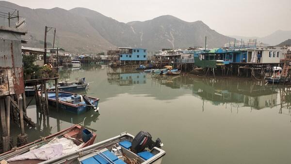 деревня рыбаков Таи О - достопримечательности Гонконга - фото