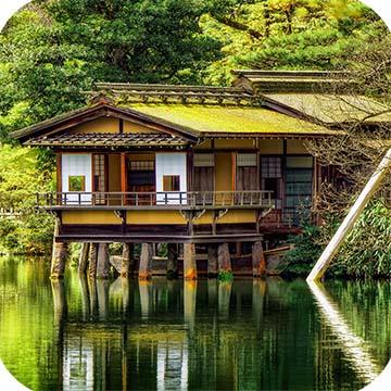 Канадзава сад Кенрокуэн фото 5